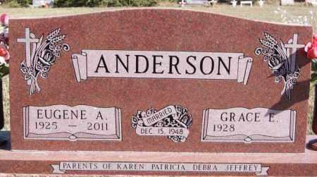ANDERSON, EUGENE A - McCook County, South Dakota | EUGENE A ANDERSON - South Dakota Gravestone Photos