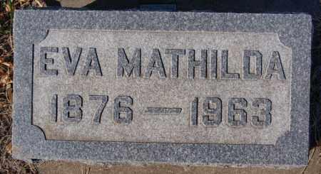ANDERSON, EVA MATHILDA - McCook County, South Dakota   EVA MATHILDA ANDERSON - South Dakota Gravestone Photos