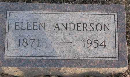 ANDERSON, ELLEN - McCook County, South Dakota   ELLEN ANDERSON - South Dakota Gravestone Photos