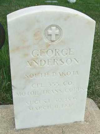 ANDERSON, GEORGE - McCook County, South Dakota | GEORGE ANDERSON - South Dakota Gravestone Photos