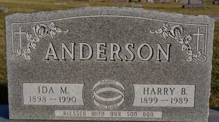 ANDERSON, IDA M - McCook County, South Dakota | IDA M ANDERSON - South Dakota Gravestone Photos