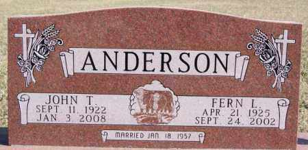ANDERSON, FERN L - McCook County, South Dakota | FERN L ANDERSON - South Dakota Gravestone Photos