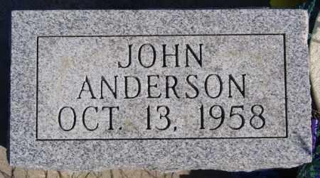 ANDERSON, JOHN - McCook County, South Dakota   JOHN ANDERSON - South Dakota Gravestone Photos