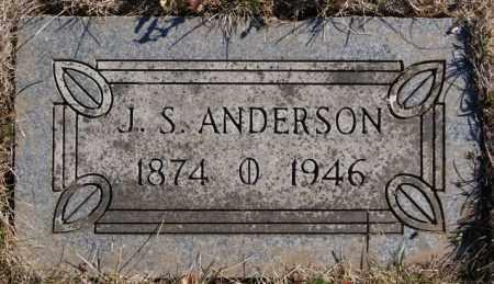 ANDERSON, J. S. - McCook County, South Dakota | J. S. ANDERSON - South Dakota Gravestone Photos