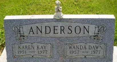 ANDERSON, KAREN KAY - McCook County, South Dakota   KAREN KAY ANDERSON - South Dakota Gravestone Photos