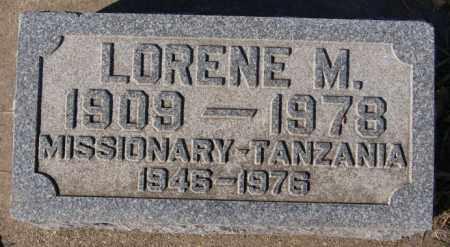 ANDERSON, LORENE M - McCook County, South Dakota   LORENE M ANDERSON - South Dakota Gravestone Photos