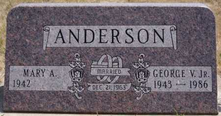 ANDERSON, GEORGE V. JR. - McCook County, South Dakota | GEORGE V. JR. ANDERSON - South Dakota Gravestone Photos