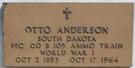 ANDERSON, OTTO (WWI) - McCook County, South Dakota | OTTO (WWI) ANDERSON - South Dakota Gravestone Photos