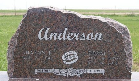 ANDERSON, SHARON K - McCook County, South Dakota | SHARON K ANDERSON - South Dakota Gravestone Photos