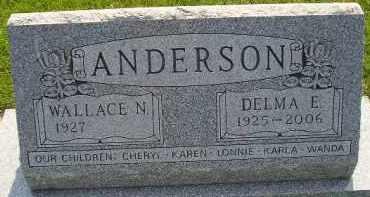 ANDERSON, WALLACE N - McCook County, South Dakota | WALLACE N ANDERSON - South Dakota Gravestone Photos