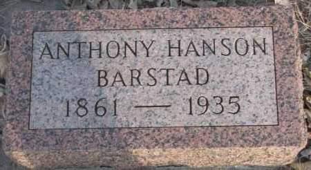BARSTAD, ANTHONY - McCook County, South Dakota | ANTHONY BARSTAD - South Dakota Gravestone Photos
