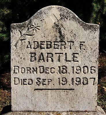 BARTLE, ADEBERT F - McCook County, South Dakota | ADEBERT F BARTLE - South Dakota Gravestone Photos