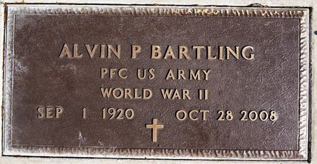 BARTLING, ALVIN P (WWII) - McCook County, South Dakota | ALVIN P (WWII) BARTLING - South Dakota Gravestone Photos