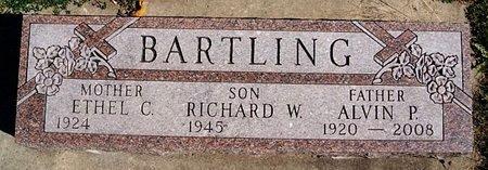 BARTLING, RICHARD W - McCook County, South Dakota | RICHARD W BARTLING - South Dakota Gravestone Photos