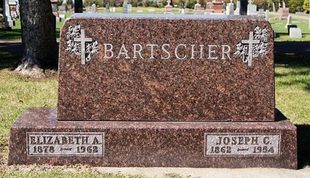 BARTSCHER, JOSEPH C - McCook County, South Dakota | JOSEPH C BARTSCHER - South Dakota Gravestone Photos