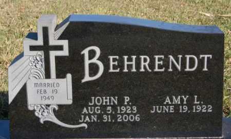 BEHRENDT, AMY L - McCook County, South Dakota | AMY L BEHRENDT - South Dakota Gravestone Photos