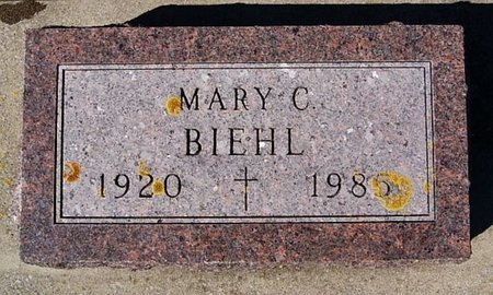BIEHL, MARY C - McCook County, South Dakota | MARY C BIEHL - South Dakota Gravestone Photos