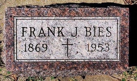 BIES, FRANK J - McCook County, South Dakota | FRANK J BIES - South Dakota Gravestone Photos