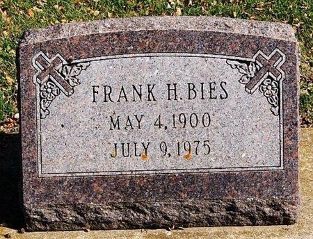 BIES, FRANK H - McCook County, South Dakota | FRANK H BIES - South Dakota Gravestone Photos
