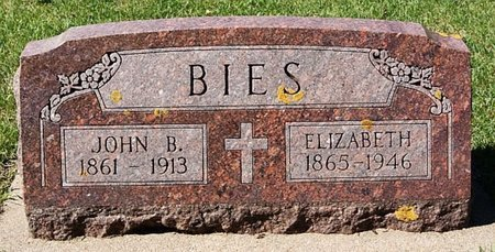 BIES, ELIZABETH - McCook County, South Dakota | ELIZABETH BIES - South Dakota Gravestone Photos