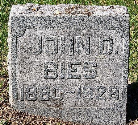 BIES, JOHN D - McCook County, South Dakota | JOHN D BIES - South Dakota Gravestone Photos