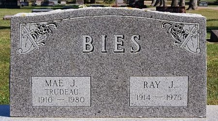 BIES, MAE J - McCook County, South Dakota | MAE J BIES - South Dakota Gravestone Photos