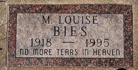 BIES, M LOUISE - McCook County, South Dakota | M LOUISE BIES - South Dakota Gravestone Photos
