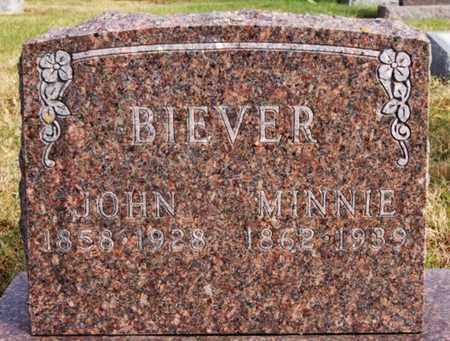 BIEVER, JOHN - McCook County, South Dakota | JOHN BIEVER - South Dakota Gravestone Photos