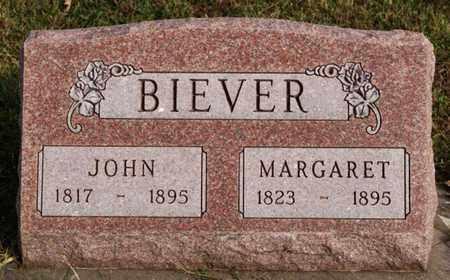 BIEVER, MARGARET - McCook County, South Dakota | MARGARET BIEVER - South Dakota Gravestone Photos