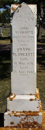 BLANKARTZ, JOHN - McCook County, South Dakota | JOHN BLANKARTZ - South Dakota Gravestone Photos