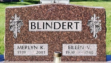 BLINDERT, MERLYN K - McCook County, South Dakota | MERLYN K BLINDERT - South Dakota Gravestone Photos