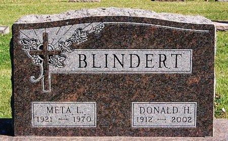 BLINDERT, DONALD H - McCook County, South Dakota   DONALD H BLINDERT - South Dakota Gravestone Photos
