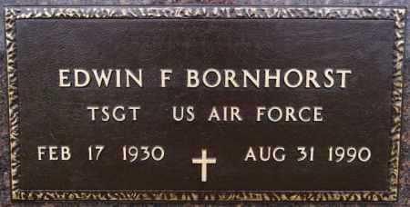 BORNHORST, EDWIN F (MILITARY) - McCook County, South Dakota | EDWIN F (MILITARY) BORNHORST - South Dakota Gravestone Photos