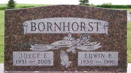 BORNHORST, EDWIN F - McCook County, South Dakota   EDWIN F BORNHORST - South Dakota Gravestone Photos