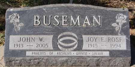 ROSE BUSEMAN, JOY E - McCook County, South Dakota | JOY E ROSE BUSEMAN - South Dakota Gravestone Photos