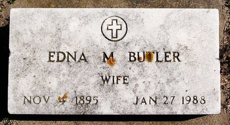 BUTLER, EDNA M - McCook County, South Dakota | EDNA M BUTLER - South Dakota Gravestone Photos