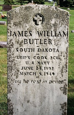 BUTLER, JAMES WILLIAM (MILITARY) - McCook County, South Dakota | JAMES WILLIAM (MILITARY) BUTLER - South Dakota Gravestone Photos