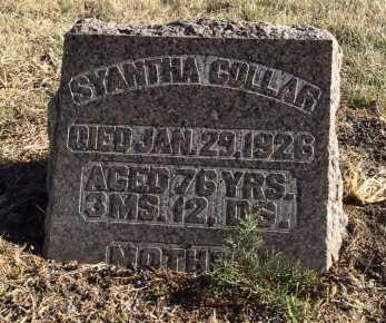 COLLAR, SYANTHA - McCook County, South Dakota | SYANTHA COLLAR - South Dakota Gravestone Photos