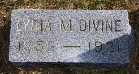 DIVINE, LYDIA M - McCook County, South Dakota   LYDIA M DIVINE - South Dakota Gravestone Photos