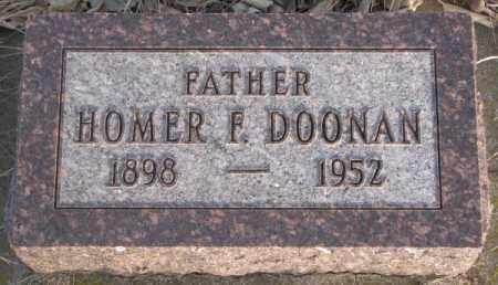 DOONAN, HOMER F. - McCook County, South Dakota | HOMER F. DOONAN - South Dakota Gravestone Photos