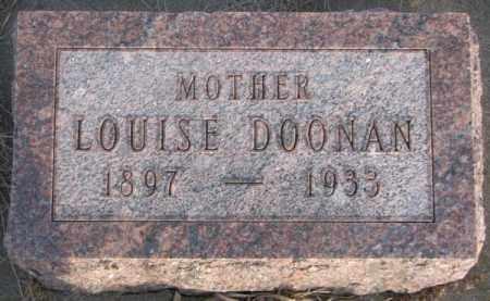 DOONAN, LOUISE - McCook County, South Dakota | LOUISE DOONAN - South Dakota Gravestone Photos