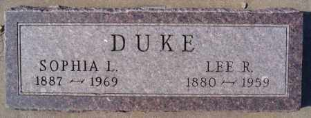 DUKE, LEE R - McCook County, South Dakota   LEE R DUKE - South Dakota Gravestone Photos