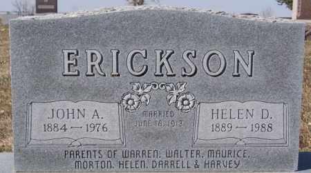 ERICKSON, HELEN D - McCook County, South Dakota | HELEN D ERICKSON - South Dakota Gravestone Photos