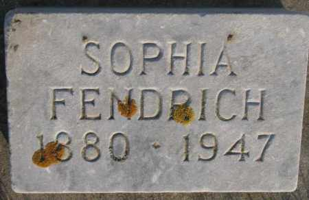FENDRICH, SOPHIA - McCook County, South Dakota | SOPHIA FENDRICH - South Dakota Gravestone Photos