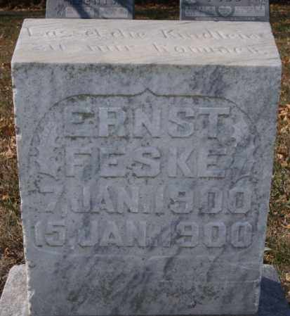 FESKE, ERNST - McCook County, South Dakota | ERNST FESKE - South Dakota Gravestone Photos