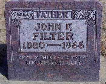 FILTER, JOHN FREDRICK - McCook County, South Dakota | JOHN FREDRICK FILTER - South Dakota Gravestone Photos