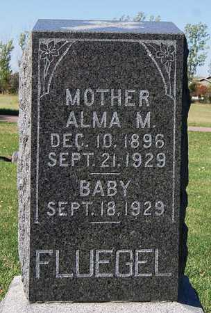 FLUEGEL, ALMA M - McCook County, South Dakota | ALMA M FLUEGEL - South Dakota Gravestone Photos