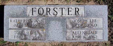 FORSTER, ALLEN DALE - McCook County, South Dakota | ALLEN DALE FORSTER - South Dakota Gravestone Photos