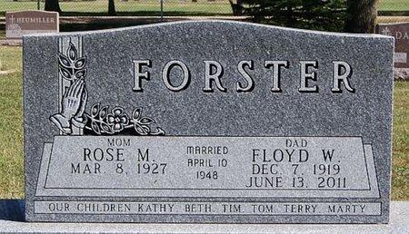 FORSTER, FLOYD W - McCook County, South Dakota | FLOYD W FORSTER - South Dakota Gravestone Photos