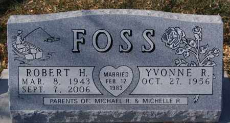 FOSS, YVONNE R - McCook County, South Dakota | YVONNE R FOSS - South Dakota Gravestone Photos
